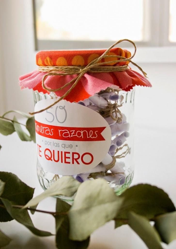 Un regalo creativo y handmade para san valent n for Que regalar por san valentin